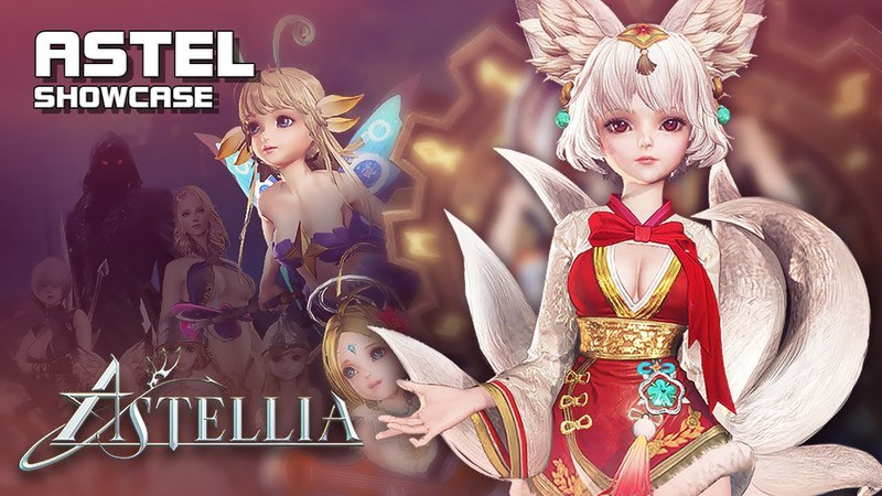 Astellia - Astel Showcase - Mage Outfits - 2nd CBT - PC - F2P - KR