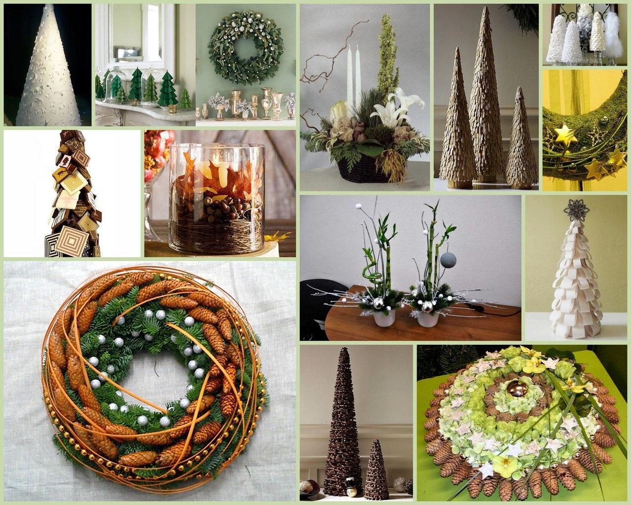 Дизайн новогодней свечи