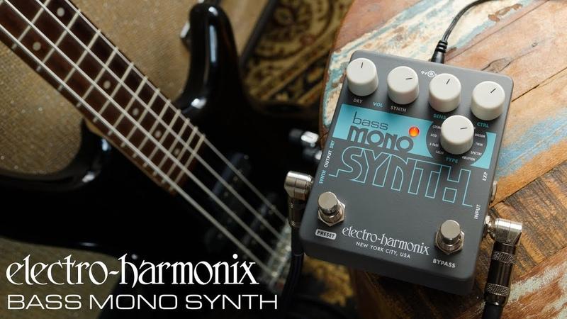 Electro-Harmonix Bass Mono Synth Bass Synthesizer