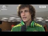 David Luiz post match interview after England drew 2-2 with Brazil at the Maracana