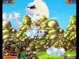 Прохождение Супер Корова - часть 6 - По облакам