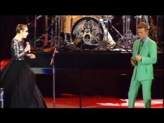 Annie Lennox  David Bowie - Under Pressure + rehearsals