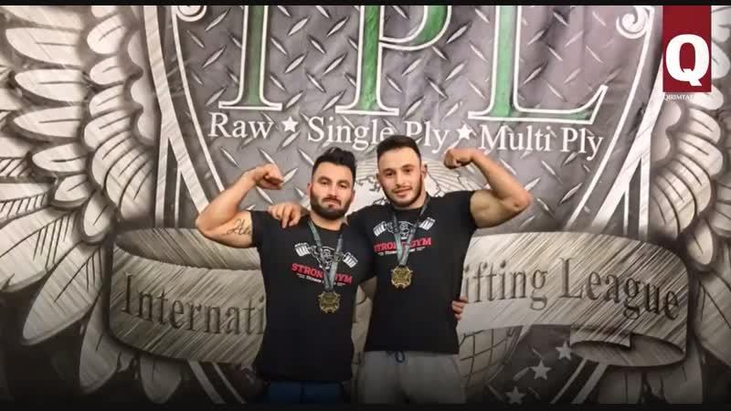 Ридван Меджитов и Мустафа Сейтнебиев – чемпионы мира по пауэрлифтингу