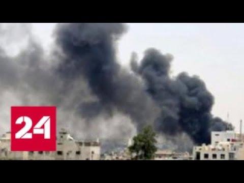 Бук и Панцирь не дали Израилю уничтожить аэропорт Дамаска Россия 24