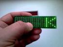 Scroling LED badge светодиодный бейдж бегущая строка