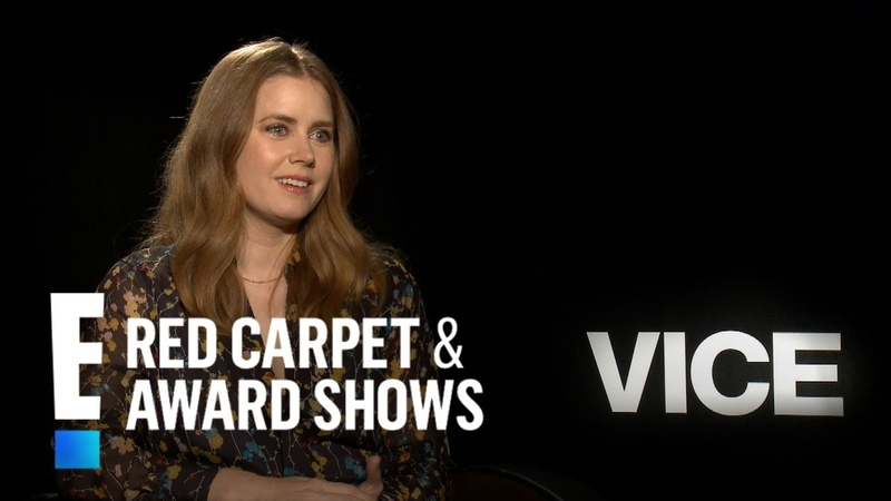 Amy Adams Talks Daunting Task of Living Vice Character | E! Red Carpet Award Shows