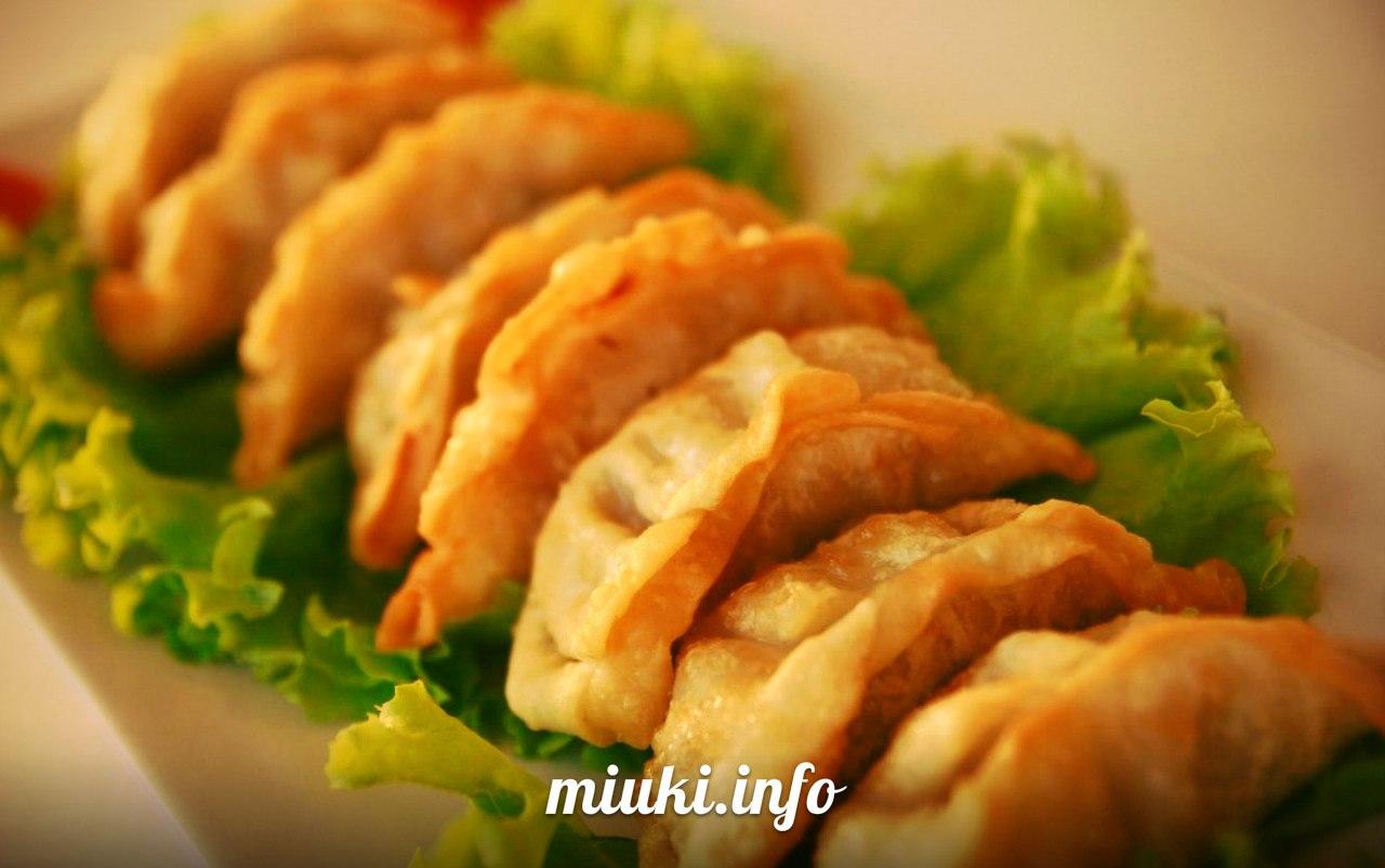 Рецепты гёдза (японские вареники)