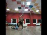 Exotic pole dance combo Lena Sher