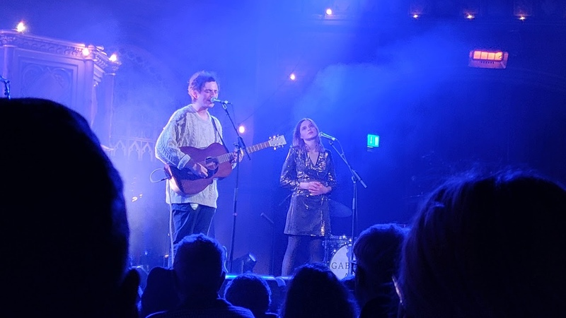 Lewis Watson ft Gabrielle Aplin Droplets Live at Never Fade Christmas Party Union Chapel London