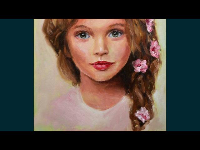 Портрет маслом Анны Павага мастер класс алла прима основы портрета Oil portrait Anna Pavaga смотреть онлайн без регистрации