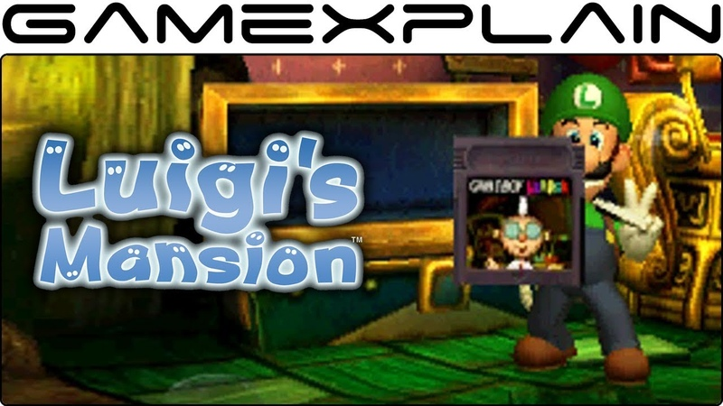 Luigis Mansion - Геймплей | Nintendo 3DS2DS.