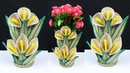 How to make a beautiful flower vase for home decoration best out of waste