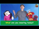 Clothing Song For Kids Learn 15 Words Learn English Kids