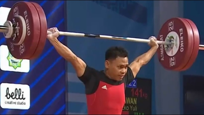 Men 61kg - 2018 Weightlifting World Championships