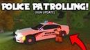 Police Patrolling GUN UPDATE Roblox Liberty County EP9