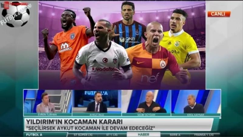 Fenerbahçe Futbol A - Aziz Yıldırım dan Aykut Kocaman Açıklamaları 5 NİSAN 2018