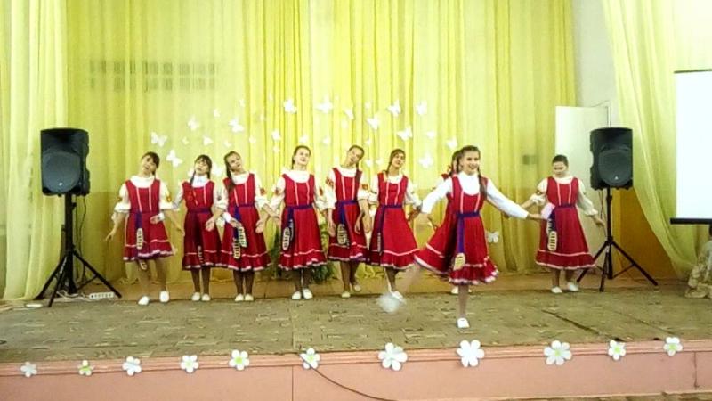 задорный танец на День учителя, СОШ3