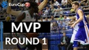 7DAYS EuroCup Regular Season Round 1 MVP Maurice Ndour Unics Kazan