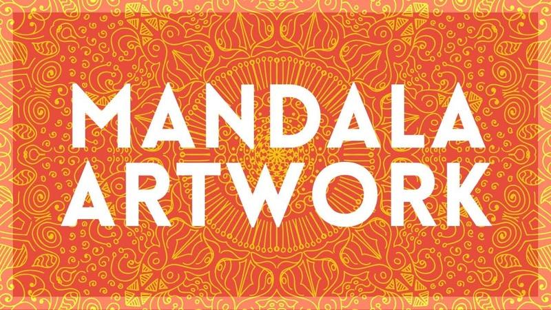 How to Create Mandala Artwork   Illustrator Tutorial
