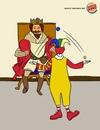 Войн между Burger king и McDonald's прекрасна: Будь королем