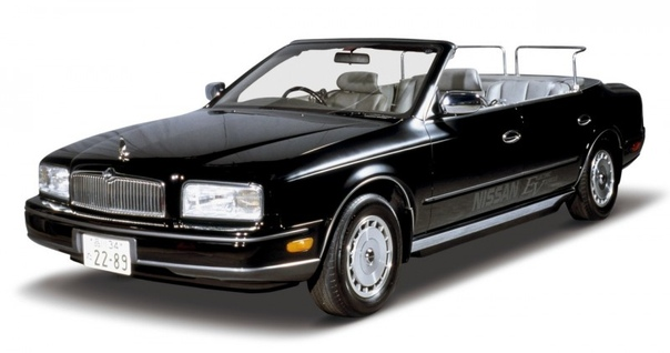 Электромобиль Nissan President EV.