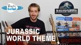 Jurassic World Theme on Guitar - John Williams (Jurassic Park Theme Fallen Kingdom)
