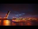 Развод мостов. Такую красоту можно увидеть только в Питере! 😍