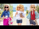 Barbie Doll Makeover Transformation ❤️ How to Make Barbie Hairstyle New Clothes