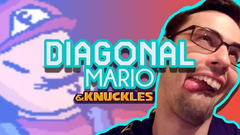 Super Diagonal Mario The Ultimate Meme Machine Laughing Until I Cry