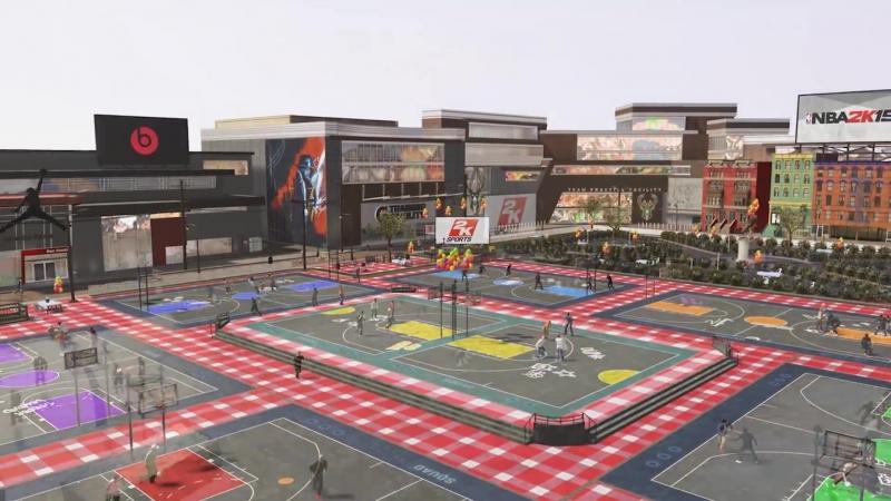 Chris Smoove - NBA 2K19: The Neighborhood Park Trailer! Trampolines, Rec Center! (29-08-2018)