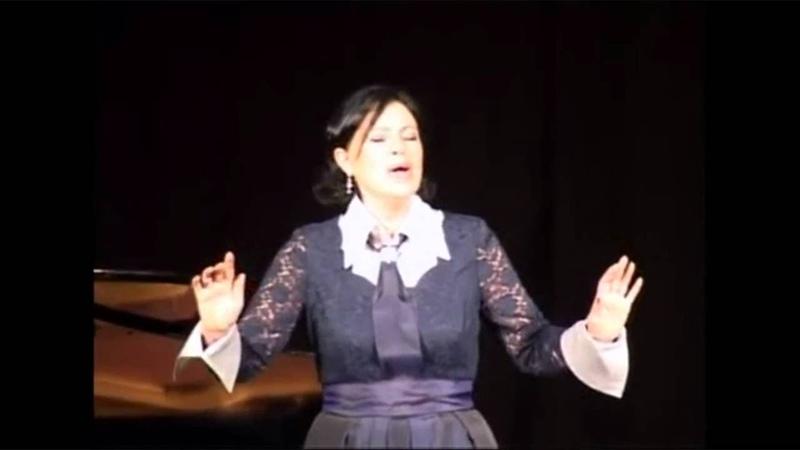 INESSA GALANTE live Sept 2009 Riga Lascia chio pianga - INFO Lyric, also in English