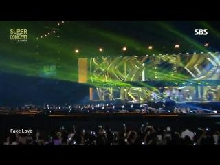 180707 BTS - FAKE LOVE @ SBS Super Concert In Taipei