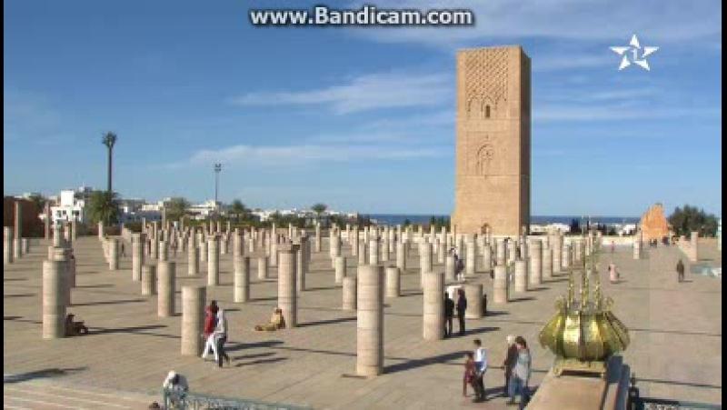 Начало пятничной молитвы на канале Al Aoula (Марокко). 01.12.2017