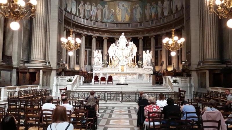 Гром органа в церкви св. Марии Магдалины (Madeleine), Paris.