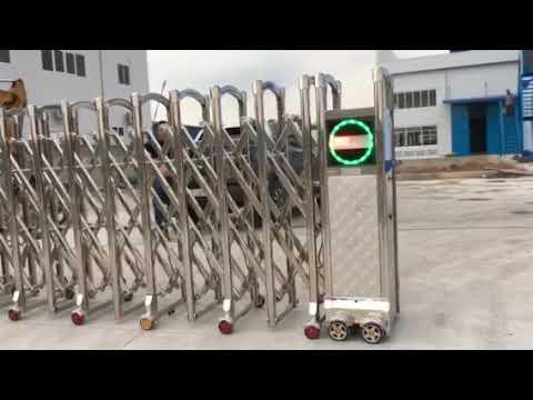 Cổng Xếp Tự Động lắp tại KCN Nam Tân Uyên, Bình Dương - 0913183440