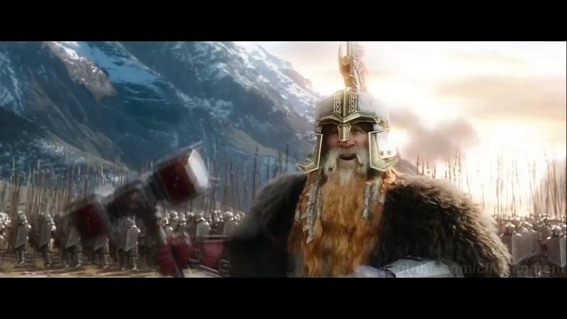 Битва Пяти Воинств гномский язык Кхуздул фразы и кличи RU