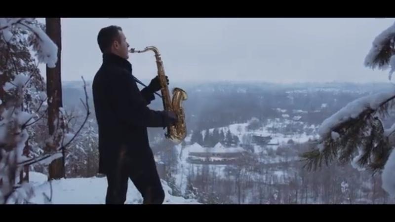 Chris Rea Driving Home For Christmas Saxophone Cover by Juozas Kuraitis