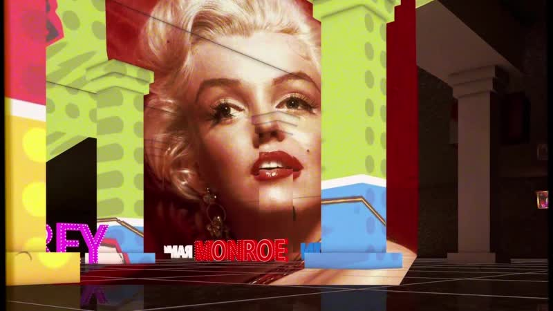 Проекция - Мэрилин Монро, Одри Хепбёрн, Курт Кобейн, Джонни Ramones