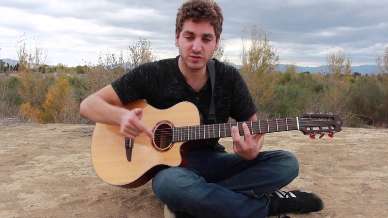 How To Play Will You Be Mine by Zalman Krause on Guitar