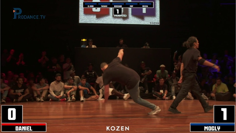 Daniel vs Mogly | SEMI-FINAL | UNDISPUTED X I.B.E 2018 | Danceproject.info