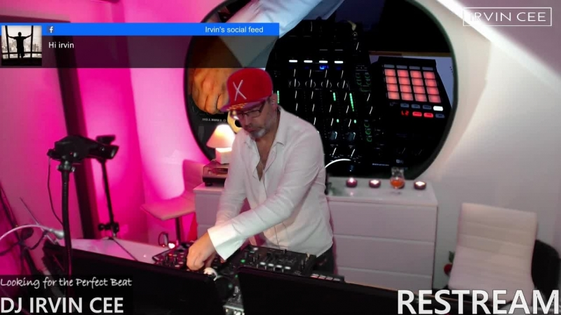 DJ IRVIN CEE (RESTREAM) Time to start moving those feet to the perfect beat :-)
