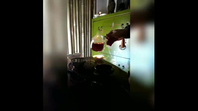 Шен 1983г с Дикого чайного дерева цвет настоя