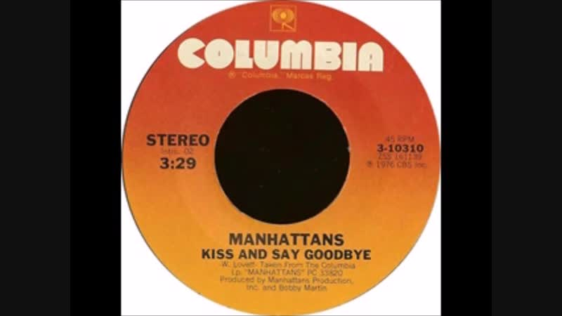 Laurie is unhappy about the spoken intro of Manhattans' Kiss and Say Goodbye
