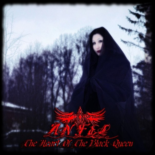 Новый альбом ANFEL - The Heart Of The Black Queen (2013)