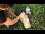 Сколько канистр с песком прострелит пуля фмджи и конус, Русское оружие ВПО 209