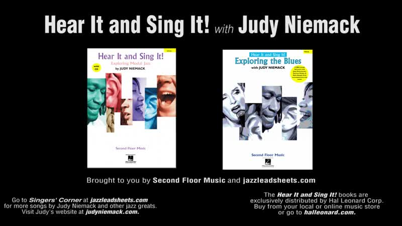 Learn to scat with master jazz vocalists Mark Murphy and Judy Niemack- Hear It and Sing It!
