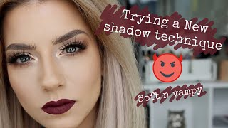 Trying a new shadow technique Soft Vampy Quickie Tutorial