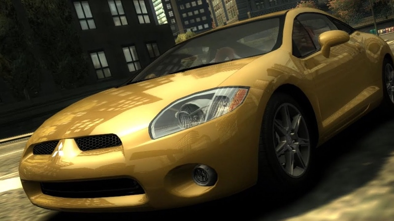 Need for Speed Most Wanted (2005) | FWD Mitsubishi Eclipse GT V6 3.8 24V - Test Drive Gameplay [1080p60FPS]