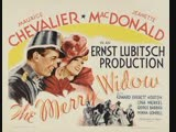 The Merry Widow (1934) Maurice Chevalier, Jeanette MacDonald, Edward Everett Horton