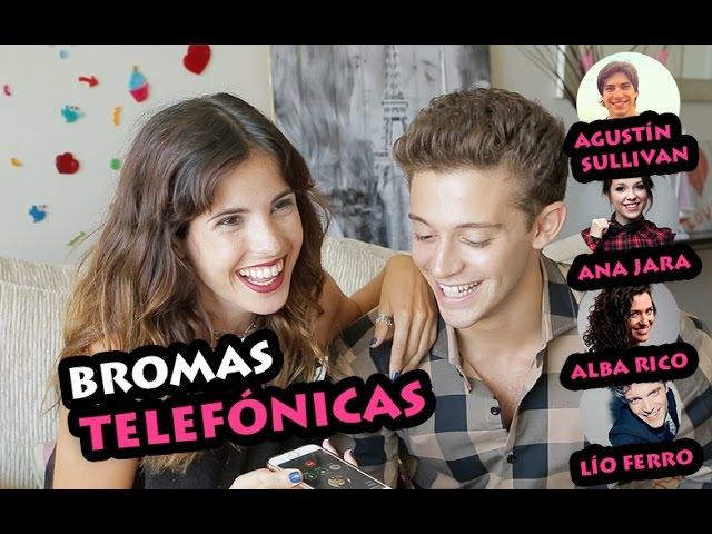 BROMAS TELEFÓNICAS A LÍO FERRO, ANA JARA, AGUS SULLIVAN Y ALBA RICO